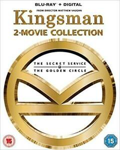 Kingsman - 2-Movie Collection [Blu-ray], Very Good DVD, Sophie Cookson,Corey Joh