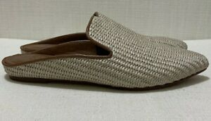 MAX MARA WEEKEND Ovidio Sandals / Slides - Beige Sz 38 / US8.5 / AU 7.5 / UK 5.5