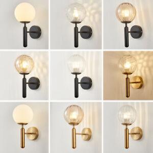 Modern Wall Lamp Bedroom Glass Wall Light Bar Indoor Wall Sconce Home Lighting