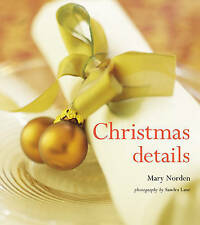 Christmas Details: 1, Mary Norden, New Book