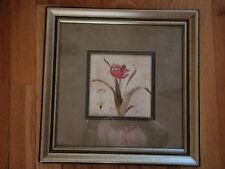SPECIAL SALE By Carol Robinson/ a burgandy/ tulip/