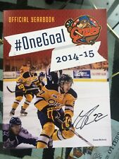 Connor McDavid AUTOGRAPHED 2014-15 Erie Otters Yearbook! #10 Authentic!