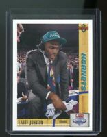 1991-92 Upper Deck Draft #2 Larry Johnson Charlotte Hornets Rookie Card