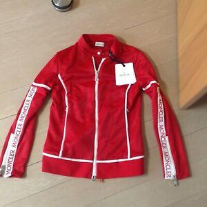 Damen Jacke von Moncler Gr L (36-38) neu mit Etikett Farbe rot