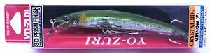 fishing lure YO-ZURI Crystal 3D Minnow 110F / F1146-C44