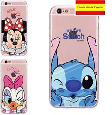 Personajes Disney Funda iPhone 6,7 Samsung Galaxy J7, Minnie, Envio España