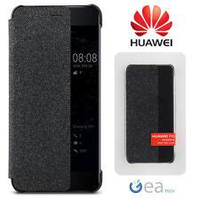 Custodia ORIGINALE HUAWEI Per P10 PLUS Smart Cover View DARK GREY Flip Case Slim