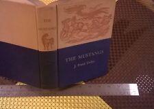 The Mustangs by  J. Frank Dobie (1952 Hardcover)