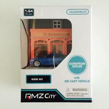 "Hotwheels / Tomica / RMZ City 1/64 Diorama Book Store "" BMW M5 "" - Hot Pick"