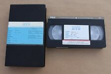 1986 Wendy O. Williams Plasmatics & UFO Band Embassy Home Video Master VHS Tapes