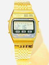 Vintage Megasonic Melody Lcd Alarm Chronograph  Digital Wrist Watch (20259M)