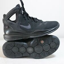 Nike 2008 Huarache Shoes ZM Zoom Size 9 Black Anthracite Gray Basketball BBall
