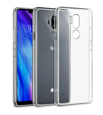 Slim Clear Soft Silicone TPU Case Cover For LG G7 ThinQ G9 G8X Q60 K51S V40 V30