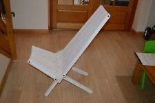XQUARE GloDea X45 Natural Lounge Chair, Bride's Veil
