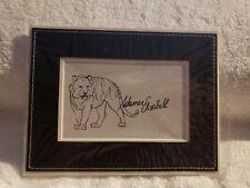 Swarovski 4x6 Black Frame Display Scs 2010 Adamer Elisabeth Tiger Art