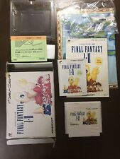 Game soft Famicom 『Final Fantasy 1&2』Box and with an instructions from Japan④