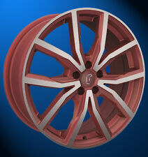 Rondell 02RZ 8 X 17 5 X 112 48 metallic rot matt poliert