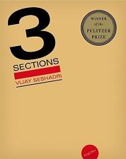 3 Sections : Poems by Vijay Seshadri (2015, Paperback)