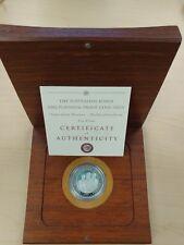 2002 Perth Mint Australia Platinum Koala $100 1 Oz (Proof, w/Box & CoA)