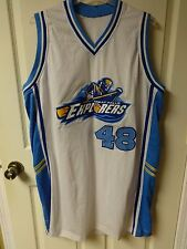 Defunct Great Falls Explorers Minor League Basketball Premium Jersey Men 2XL #48