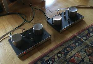 Cumulus 508PP valve tube amplifiers , made in AU, German & USA tubes, bargain!