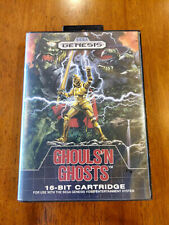Ghouls 'n Ghosts (Sega Genesis, 1989) NO MANUAL, MAIL IT TOMORROW!