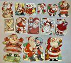 Vintage Christmas Cards. Lot Of 15 Theme: Santa. Olive Oyl. 1909-1940s