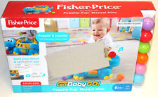 Fisher-Price Poppity-Pop Musical Dino - Damaged Box
