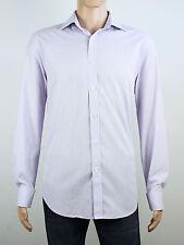 Jeff Banks mens Size XL 42cm 16.5 neck double cuff long sleeve shirt
