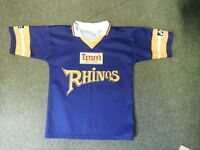 Leeds Rhinos Small Mens Rugby League Shirt