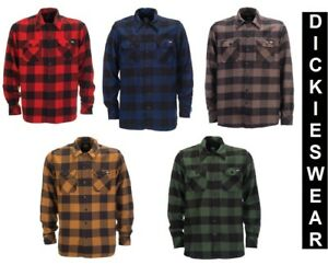Dickies Sacramento Holzfällerhemd Karohemd Rockabilly