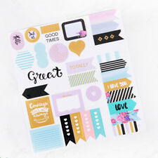 1 Pc New Notebook Planner Album Diary DIY Decor Diary Stationery Stickers Gifts