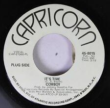 Southern Rock Promo 45 Cowboy - It'S Time / Pretty Friend On Capricorn