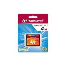 Transcend memoria Compact Flash 4GB 133x
