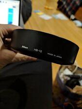 GENUINE Nikon HB-12 HB 12 hood AF Zoom forNikkor 28-200mm f/3.5-5.6  D lens 72mm