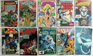Comic Book - Marvel Daredevil Iron Man - Collection Job lot (B) - See Photo's