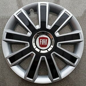 """Full set 14"""" wheel trims, hubcaps to fit FIAT 500"""