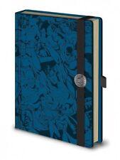 DC Comics Personajes Premium A5 atado sin forro en relieve portátil 100% oficial