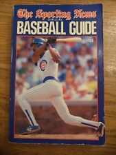 1988 SPORTING NEWS BASEBALL GUIDE ANDRE DAWSON CHICAGO CUBS