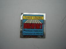 DURIFORT TUBES LéGERS DECAL / STICKER - CHROME / MIRROR SILVER - NOS