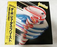 Judas Priest Turbo 28.3P-705 Japan 1986 LP Vinyl w/ Obi