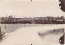 Turquie Constantinople Photographie aérienne n5 Vintage Citrate c1919