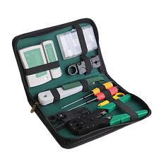 New 11 in 1 Flat Screwdriver Pliers Crimping Maintenance Repair Network Tool set