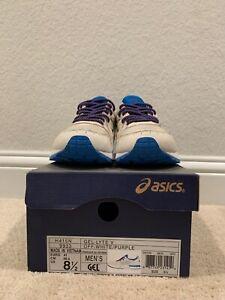 Asics Gel Lyte V Off White/Purple H415N 9933 US Men's 8.5 w/ Extra Laces