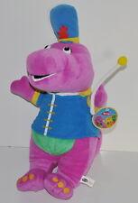 "Barney the Dinosaur 2006 Lyons Nanco Band Leader Plush Soft Toy New 17"""