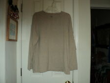 Great Northwest Long Sleeve T-Shirt - Plus Size 3X - Heather Tan
