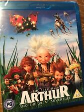 Arthur and the Great Adventure Blu-ray - Luc Besson NEW SEALED UK FREEPOST