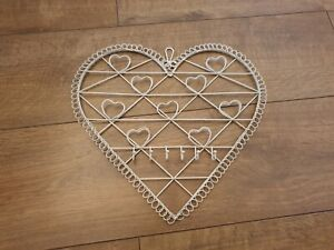Shabby Chic Heart Shaped Memo Board