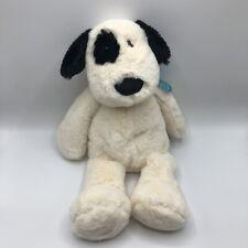 """Lovelies Puppy Dog Plush White Black Eye Floppy Soft Manhattan Toy Company 17"""""""