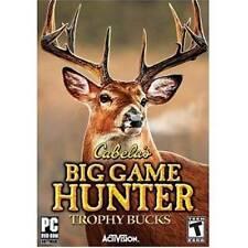 Cabela's Big Game Hunter - PC - Video Game - VERY GOOD